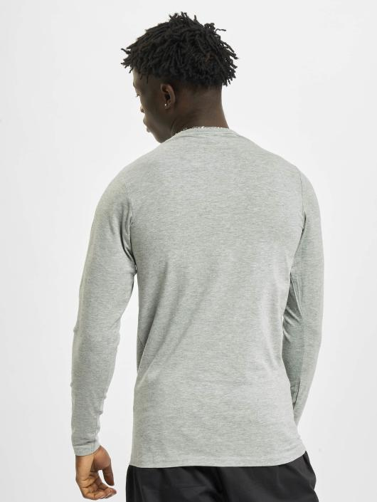 Urban Classics Longsleeve Fitted Stretch gray