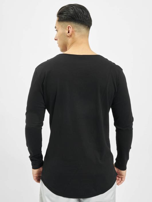 Urban Classics Longsleeve Long Shaped Fashion zwart