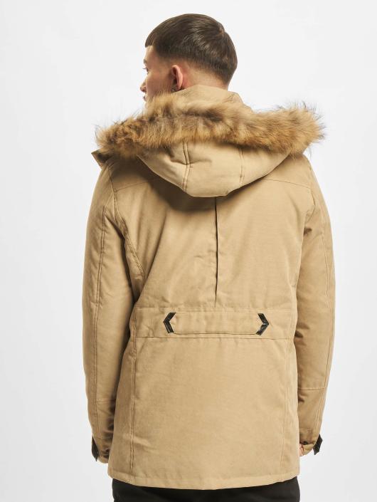 Urban Classics Manteau hiver Down beige