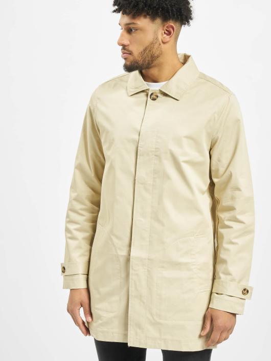 Urban Classics Herren Mantel Gabardine in beige 305819 6e5ec2544e