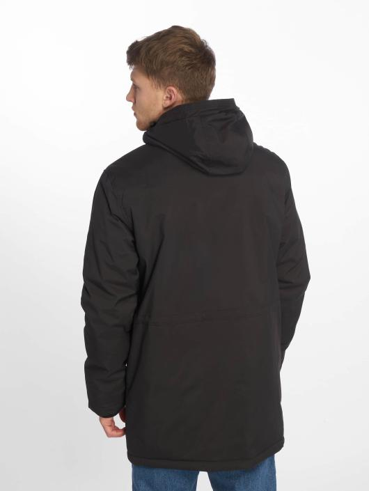 Urban Classics Mantel Hooded Heavy Thumbhole schwarz