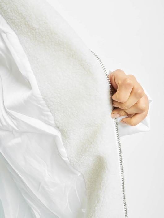 Urban Classics Mantel Oversized Hooded Puffer weiß