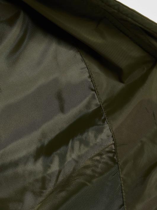 Urban Classics Pilotjakke Diamond Quilt Short oliven