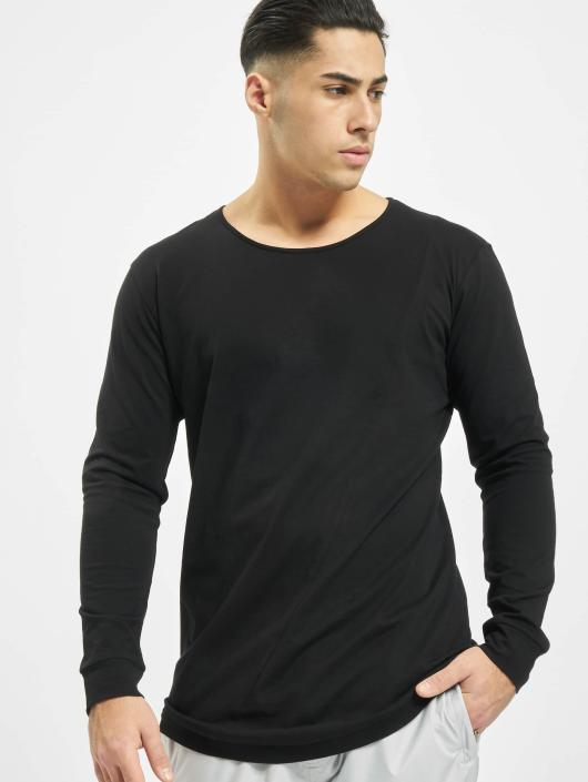 Urban Classics Pitkähihaiset paidat Long Shaped Fashion musta