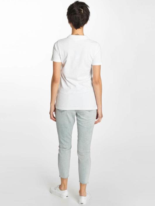 Urban Classics Polokošele Wash Polo biela