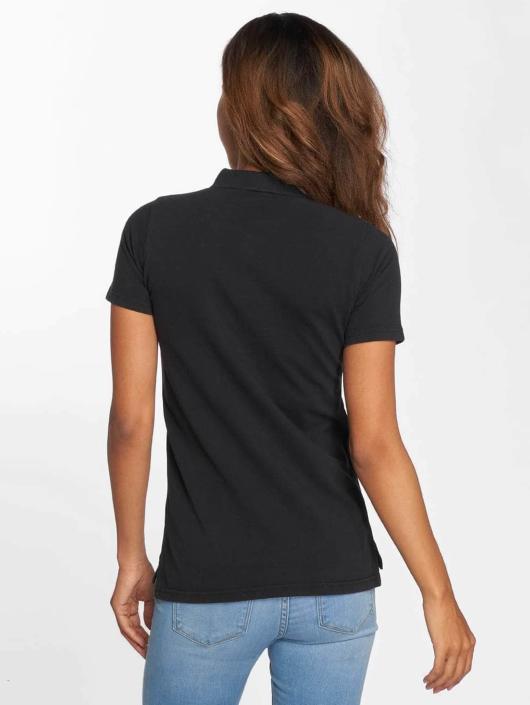 Urban Classics Poloshirt Wash schwarz