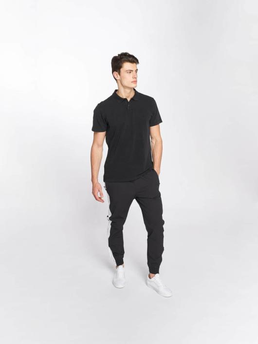 Urban Classics Poloshirt Garment Dye Pique schwarz