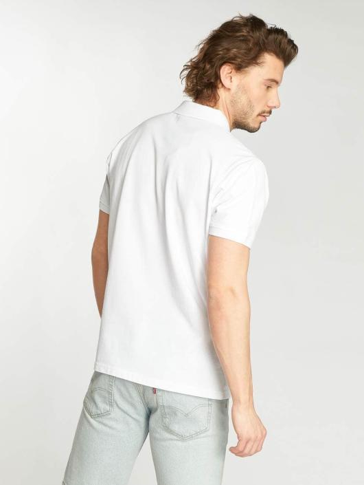 Urban Classics Poloskjorter Color Block Panel hvit