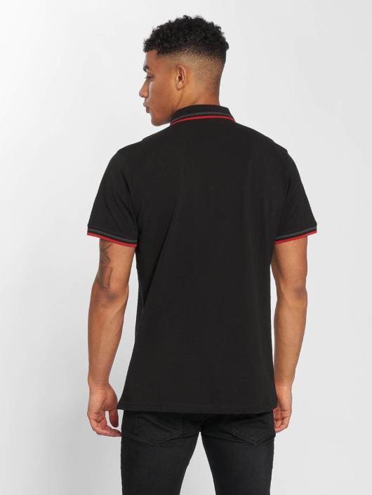 Urban Classics Poloskjorter Double Stripe svart