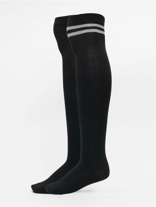 Urban Classics Ponožky Overknee èierna
