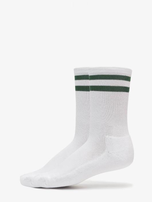 Urban Classics Ponožky 2-Pack Stripe biela