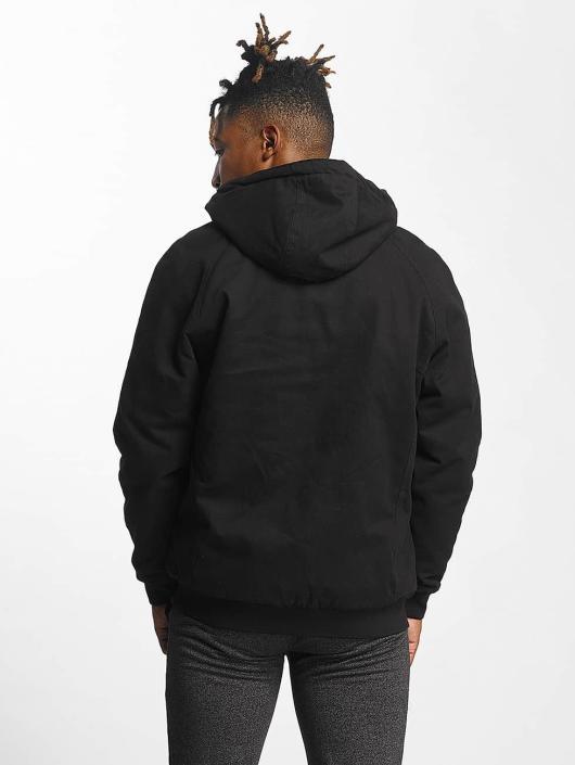 Urban Classics Prechodné vetrovky Hooded Zip èierna