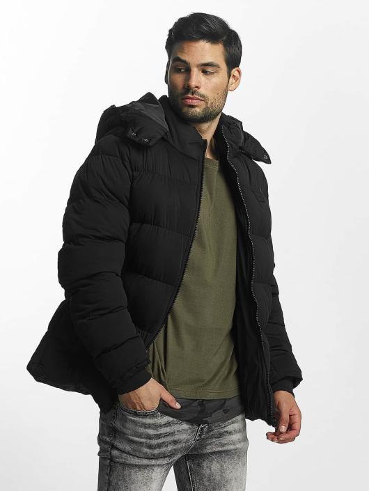 Urban Classics Puffer Jacket Hooded Boxy Puffer black