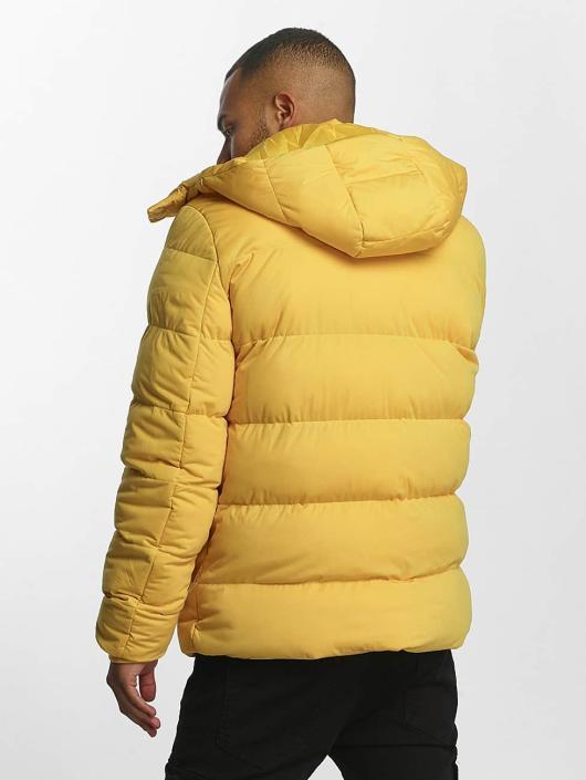 Urban Classics Puffer Jacket Hooded Boxy Puffer gelb