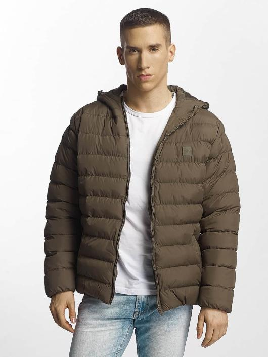 Urban Classics Puffer Jacket Basic Bubble khaki