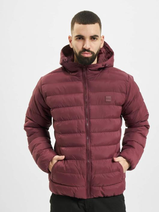 Urban Classics Puffer Jacket Basic Bubble red