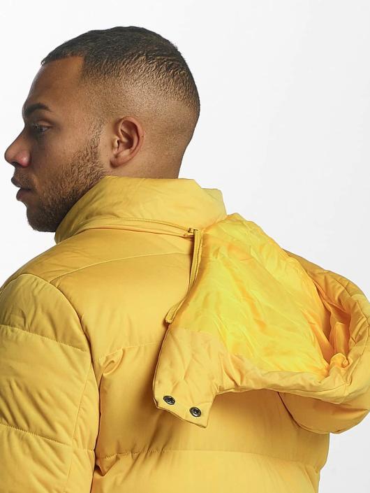 Urban Classics Puffer Jacket Hooded Boxy Puffer yellow