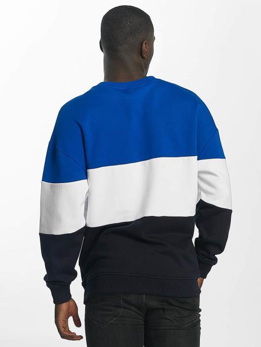 Urban Classics Pullover 3 Tone blue