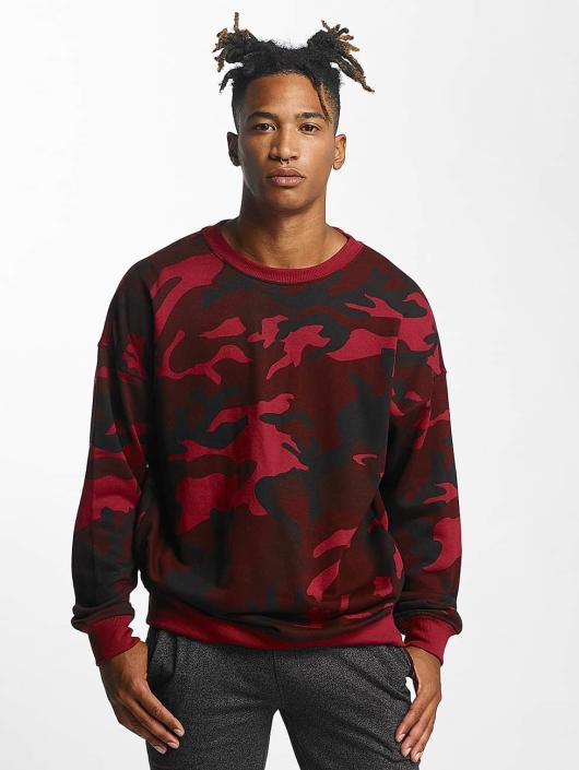 Urban Classics Pullover Camo red