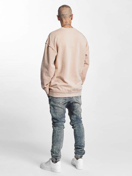 Urban Classics Pullover Oversized Open Edge rosa