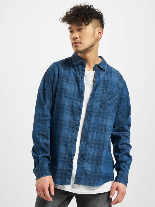 Urban Classics Shirt Printed blue