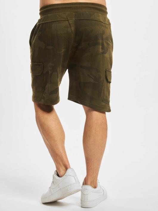 Urban Classics Short Camo Terry Cargo camouflage