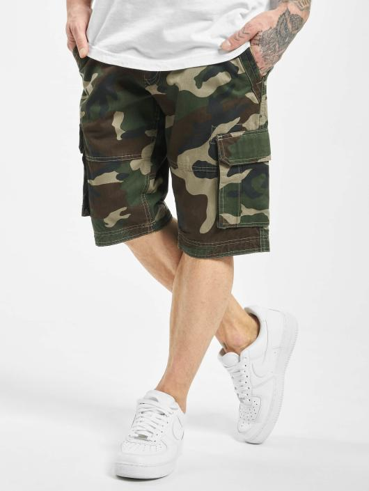 Urban Classics Shorts Fitted Cargo camouflage