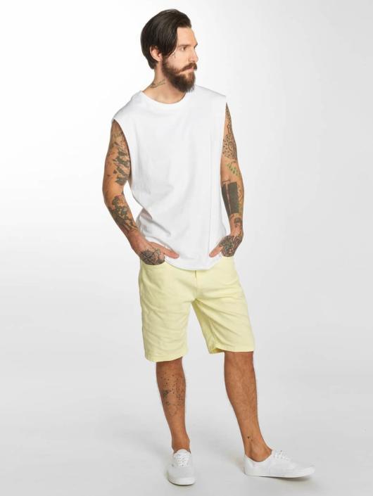 Urban Classics Shorts Twill Stretch gelb