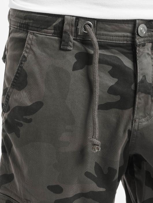Urban Classics Shorts Camo Cargo grå