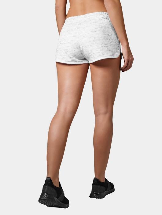 Urban Classics Shorts Space Dye hvit