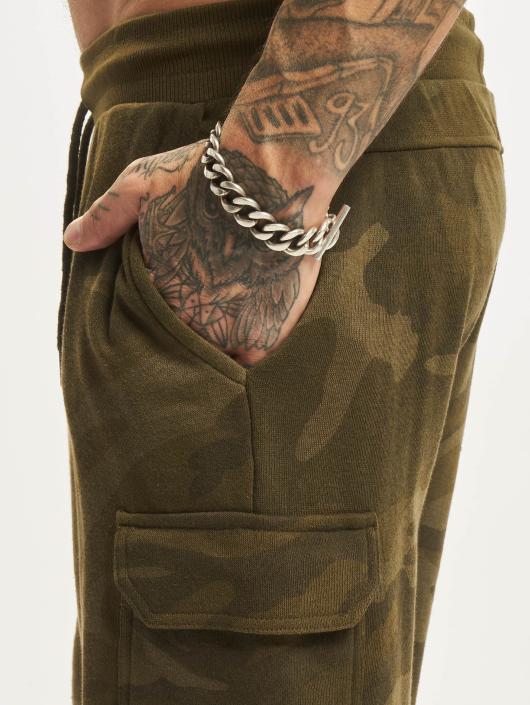 Urban Classics Shorts Camo Terry Cargo kamuflasje