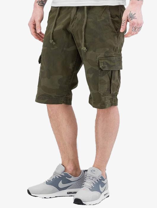 Urban Classics Shorts Camo Cargo olive