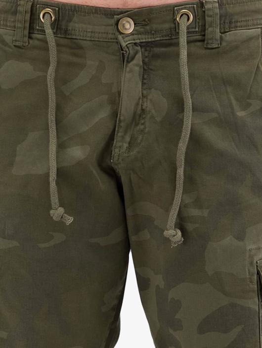 Urban Classics Shorts Camo Cargo oliven