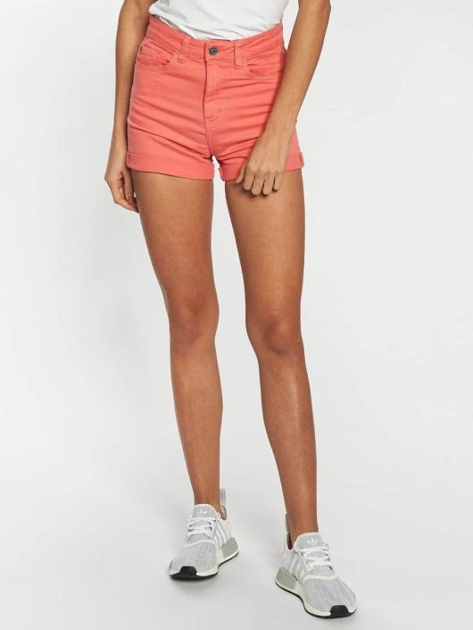 Urban Classics Shorts Twill Highwaist Stretch red