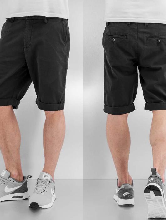 Urban Classics Shorts Stretch Turnup schwarz