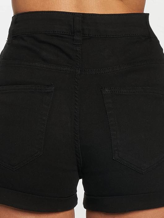 Urban Classics Shorts Twill Highwaist Stretch schwarz