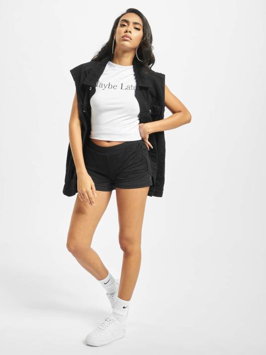 Urban Classics Shorts Double Layer schwarz