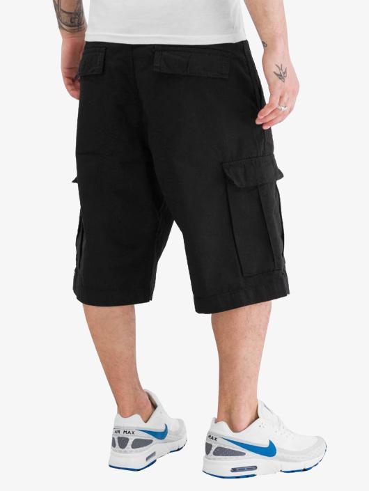 Urban Classics Shorts Camouflage svart