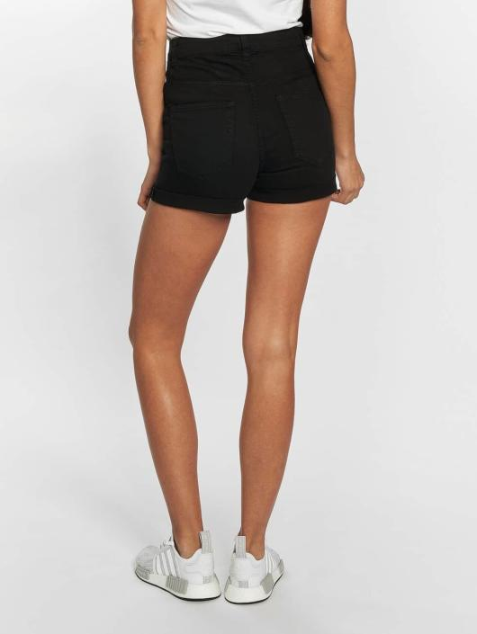 Urban Classics Shorts Twill Highwaist Stretch svart