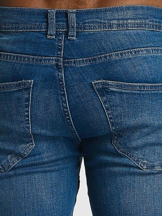 Urban Classics Skinny Jeans Ripped blue