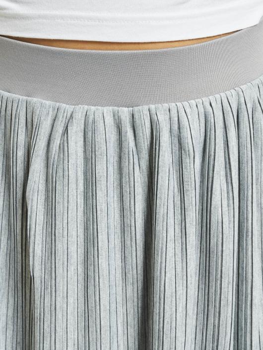 Urban Classics Skjørt Jersey Pleated grå