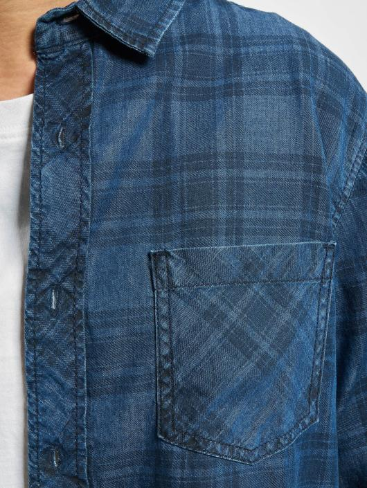 Urban Classics Skjorter Printed blå