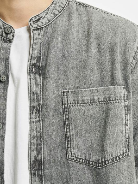 Urban Classics Skjorter Low Collar grå