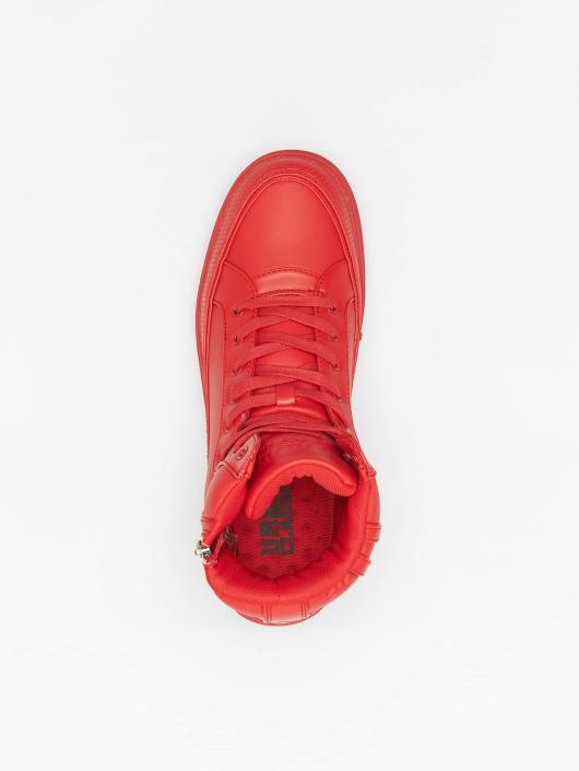 Urban Classics Sneaker Zipper rot
