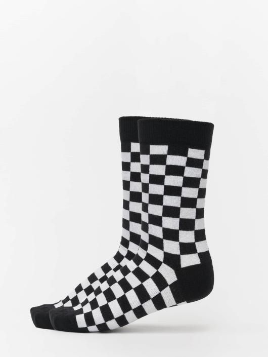 Urban Classics Socken 2-Pack Checker schwarz