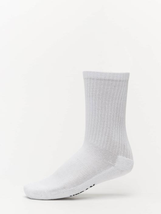 Urban Classics Socken 3-Pack Logo Sport weiß