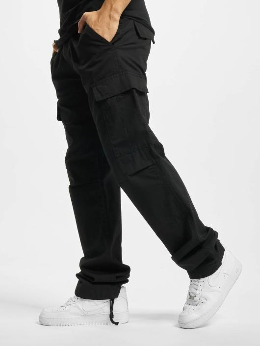 Urban Classics Spodnie Chino/Cargo Camouflage czarny