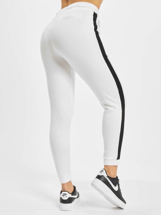 Urban Classics Spodnie do joggingu Interlock bialy