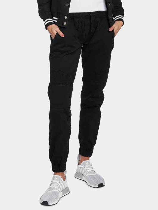 Urban Classics Spodnie do joggingu Biker czarny