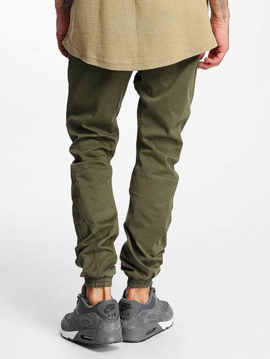 Urban Classics Spodnie do joggingu Stretch oliwkowy